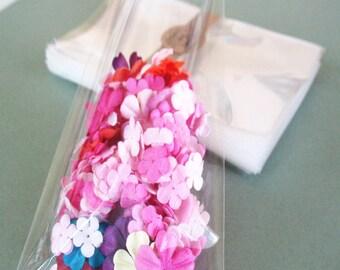 "25 Clear Cello Bags 3x5"" -Transparent Cello Bags -Food Safe Cello Bags -Small Cello Packing Bags -Candy Cellophane Bags"