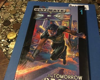 Ultimate X-Men #1 Graphic Novel The Tomorrow People!