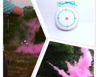Shooting Target Gender Reveal Shooting Target Gender Reveal Ideas Gender Reveal Shooting Target Gender Reveal