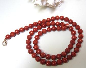 Vintage Natural Coral Necklace