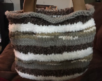 Knitted Purse