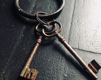 Skeleton Gate Keys, France, Gate Key.2 large Antique