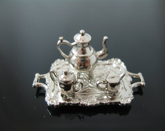 Miniature Silver Tea Set