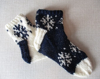 Flurry Socks in Worsted