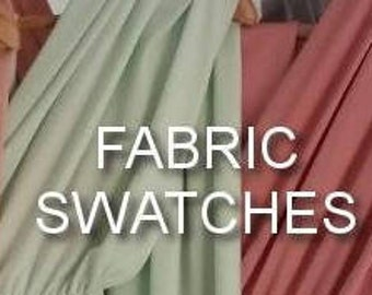 Swatch of the fabric for Infinity Multiway Convertible Twist Wrap Dress Bridesmaid Wedding Prom Evening Many Colours Available