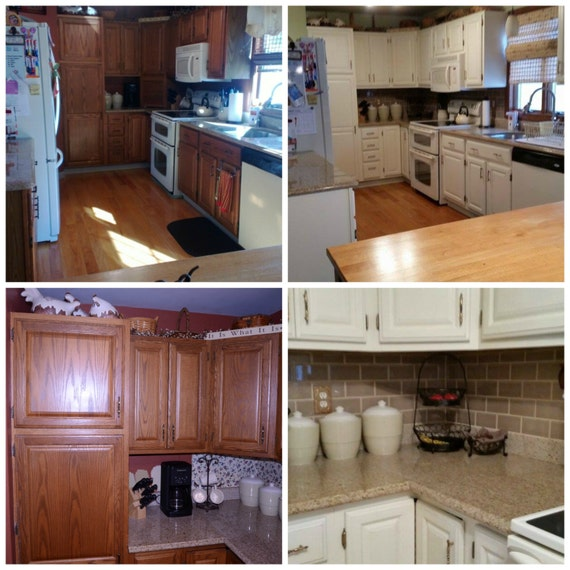 Painting Class - Refinishing Kitchen Cabinets - Learn How to Paint Bathroom Cabinets - Kitchen Makeovers - Painting Workshop