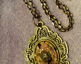 Orgone Abundance Generator Pendant and necklace