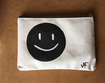 Smiley Makeup Bag