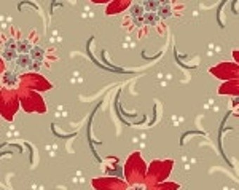 Red is the New Neutral by Marcus Fabrics R142124-0190 by Faye Burgos