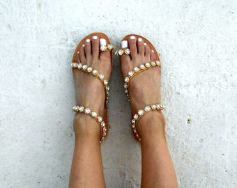 Wedding Crystal Sandals