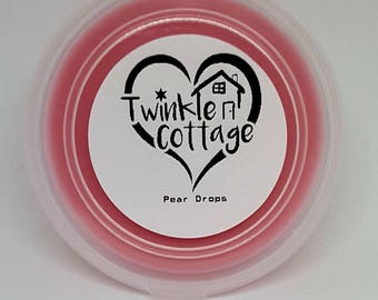 Pear Drops Scented Soy Wax / Tart Melt Tub - Twinkle Cottage