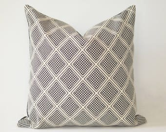 Diamonds and Domino Pillow Cover