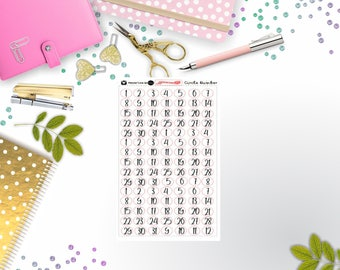 Circle Date cover Stickers