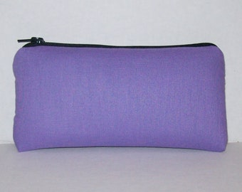 """Pipe Pouch, Lavender Pipe Case, Pipe Bag, Glass Pipes, Padded Pipe Pouch, Zipper Bag, Cannabis, Smoke Accessory, Zipper Pouch - 5.5"""" SMALL"""
