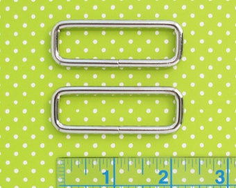 Rectangle Rings 2 Inch | Bag strap or flap closure handbag hardware.