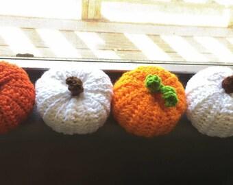Crochet stuffed Pumpkins