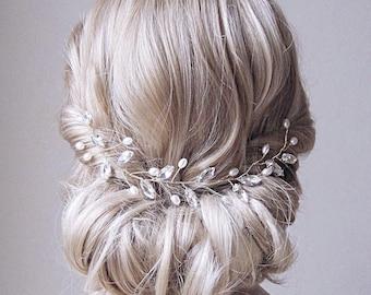 Braut Kopfschmuck, Perle Haar Weinstock, Hochzeit Kopfschmuck, Braut Haar Weinstock, Braut Stirnband