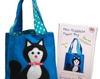 Child's bag sewing kit - Max Ecklefeckin