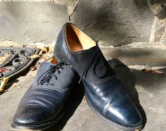 Gravati Leather Oxfords Size 8 N
