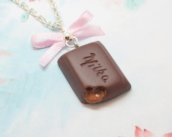 necklace of chocolate