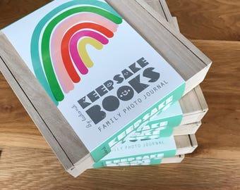 Rainbow Memory Book