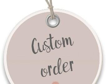 Custom order for A - loot llama - free shipping