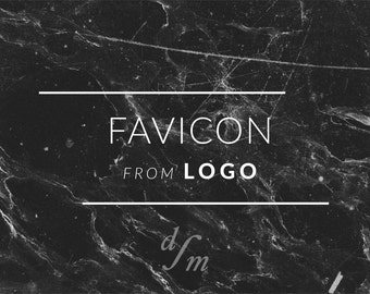 Matching Website Icon to Premade Logo Design - Favicon Design - Favicon Icon - Graphic Design - Branding Package Kit - Icon Design - Addon