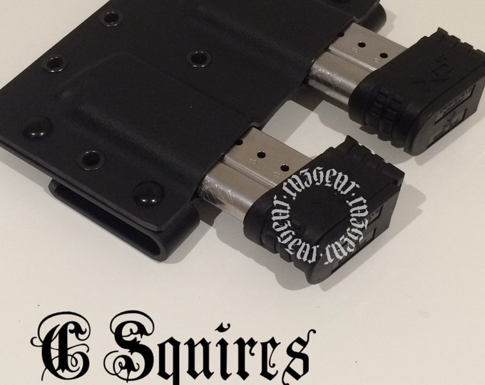 Springfield XDS C Squires mag carrier .(Specify Caliber on Checkout)