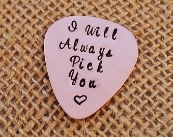 Personalized Guitar Pick - Custom Guitar Pick - Husband gift - Christmas gift for Boyfriend Fiance - Custom Guitar Pick
