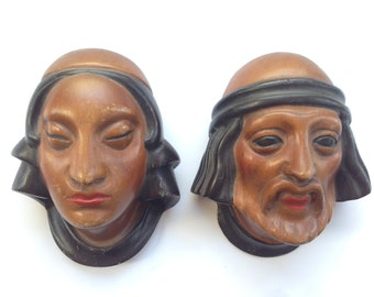 Wood Carved Faces