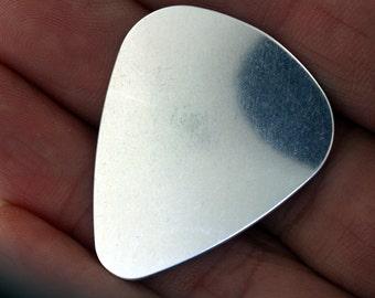 Mega Sale! 10 pcs Sterling Silver Guitar Pick for engraving/handstamping 22 Gauge-HandStamping Supplies by Daisytreasures as low as 4.25 ea!