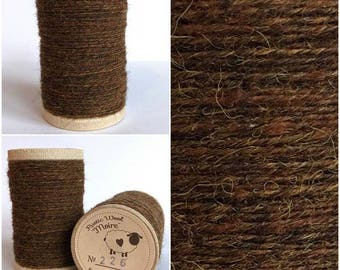 Rustic Moire Wool Thread #226 for Embroidery, Wool Applique and Punch Needle Embroidery