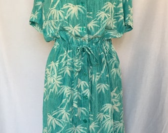 Vintage Diane von Furstenberg silk dress