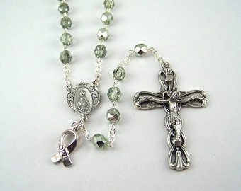 Mint Awareness Rosary