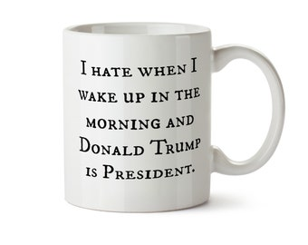 Trump Sucks Mug, Impeach Trump Mug, Funny Anti-Trump Mug, Liberal Gift , Mueller Time Mug,  Present for Democrat, Resist Mug, Christmas Mug