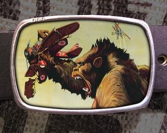 King Kong Belt Buckle 713, Gift for Him, Gift for Her, Husband  Gift, Wife  Gift Groomsmen Wedding