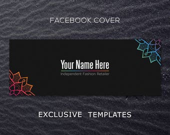 Facebook photo, Group Photo, facebook banner, facebook graphics, facebook cover photo, mandala, store graphics