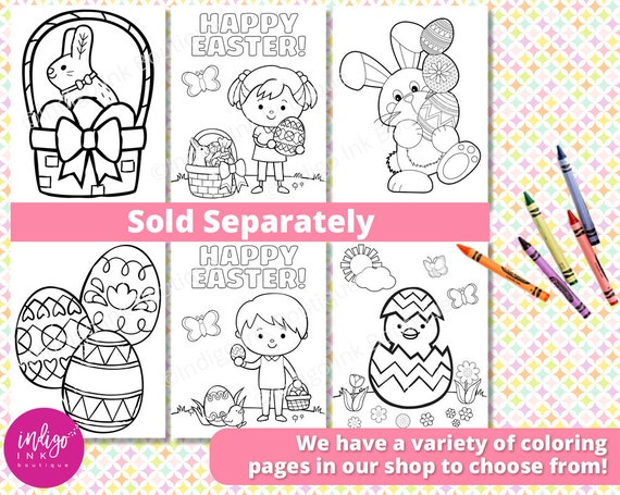 Easter Religious Coloring Sheets