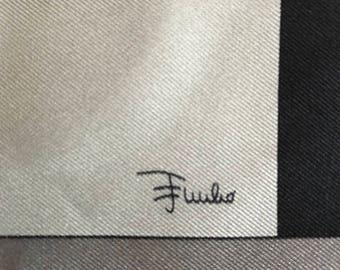 Vintage Emilio Pucci Fuilio Silk Scarf/ 22 X 22 inches