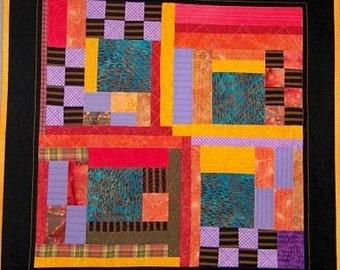 Four Squares Art Quilt