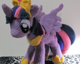 Princess Twilight Sparkle Pattern - My Little Pony