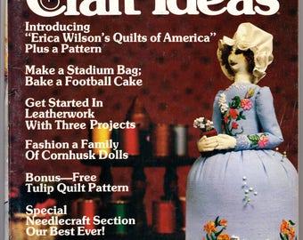 Decorating & Craft Ideas - Vintage Magazine, Sept 1979