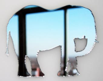 Elephant Mirror - Available in various sizes