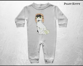 Infant Sleeper, Coming Home Outfit, Kawaii Baby Sleeper, Cat Baby Romper, Anime Baby Sleeper, Manga Sleeper, Free Shipping