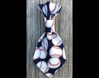 Play Ball - Over the Collar - Pet Necktie - Little Dog - Big Dog