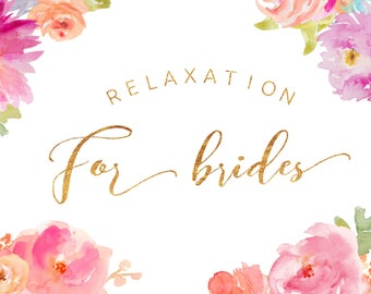 Bridal Relaxation Lounge | Audio Download |  Guided Relaxation | Relaxation for Brides | Wedding Stress Relief | Gift for Brides