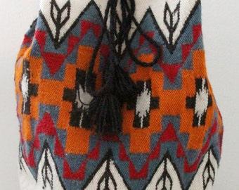 Southwest Fabric Backpack
