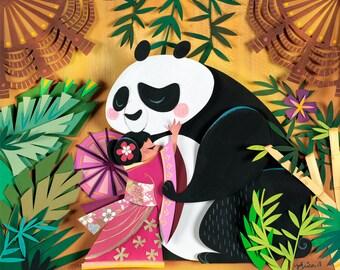 It's a Tiny Little World - China Print