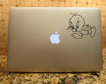 Bird decal Baby bird Decal Car decal Auto decal Laptop decal Vehicle decal Window decal cartoon decal cartoon character decal
