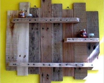 Reclaimed Wood display shelf